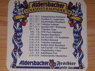 Aldersbacher Volksfestkalender 94 BD Bierdeckel - Nürnberg