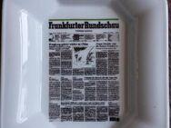 """Aschenbecher """"Frankfurter Rundschau"""" (Seltmann, Weiden) - Frankfurt (Main) Sachsenhausen-Süd"""