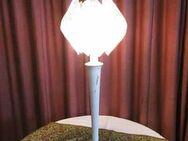 Tischlampe aus den 1970ern / Stehlampe Nostalgie / Lampe mit Plastikschirm - Zeuthen