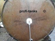 P80 gebrauchter 3.000 L Polyestertank GFK-Tank Lagerbehälter Zisterne Wassertank Futtermitteltank Molketank Melassetank Regenauffangtank Gülletank - Nordhorn