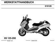 Werkstatthandbuch für Piaggio X 8mit 125 - 200 cm³  in deutsch ! - Bochum Hordel