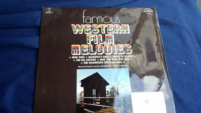 SCHALLPLATTE FAMOUS WESTERN FILM MELODIES - Berlin Lichtenberg