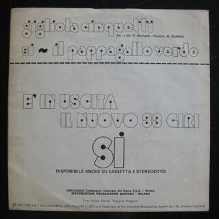 Gigliola Cinquetti - Si (Single) - Niddatal Zentrum