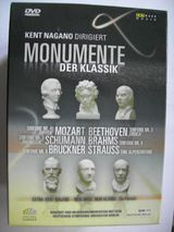 Kent Nagano - Monumente der Klassik - DVD Box