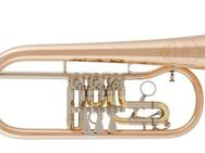 Cerveny Konzert - Flügelhorn Mistrinanka Goldmessing, NEU - Hagenburg