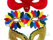 3x KARNEVAL Maske Halbmaske-Gesichtsmaske-Augenmaske-HALLOWEEN - Nürnberg