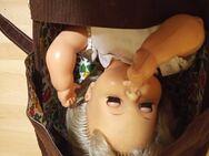 DDR Puppe mit Tragetasche - Hermsdorf