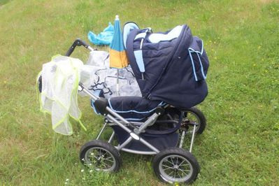 Kinderwagen, Babywagen von ABC-Design mit viel Zubehör - Bad Belzig Zentrum