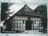 Meldorf Dithmarschen Bauernhaus Ansichtskarte Schwarz-Weiß-Foto Postkarte, alt