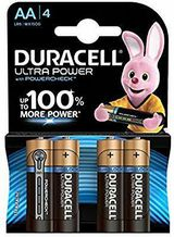 Duracell Ultra Power Typ AA Alkaline Batterien, 4er Pack / NEU & OVP