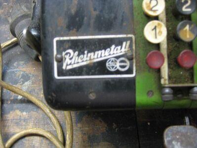 Rheinmetall Rechenmaschine - Duisburg