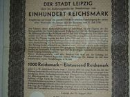 090 Auslosungsschein Leipzig 1930 100,00 Reichs Mark,selten,Rar - Lüdenscheid