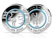 Subpolare Zone 5 Euro Münzen J und D - Osnabrück