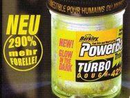 Neu! 50g Forellenteig Berkley Trout Bait Turbo F:Glow/Green/White - Kirchheim (Teck) Zentrum