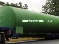 GS14 gebrauchter 100.000 L doppelwandiger Stahltank Heizöltank Löschwassertank Löschwasserbehälter Wasserzisterne Lagerbehälter DIN6616/2 - Nordhorn