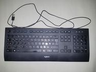 Logitech Keyboard K280e M/N: YB0002 Rating: 5V 100mA Tastatur RETRO GAMING