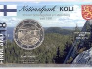 2 Euro,Finnland 2018 Gedenkmünze/Koli Nationalpark ,in Infokarte/Coincard,Lot 704
