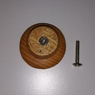 Möbel Griff Knauf 10 Stück Metallgewinde Holz Knopf - Nürnberg