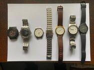 Herren Armbanduhren  6 Stück - Meckenheim