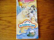 Spiel mit im Eisbären-Land-Ravensburger Verlag,von 1993,Bilderbuch zum kompletten Aufklappen ! - Linnich
