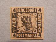 AD-Bergdorf 4 Schilling 1861-67,  MI:DE 5,Lot 646