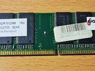 Arbeitsspeicher 512 MB DIMM, DDR PC 2700 ( HVB25D256800BT-5 )