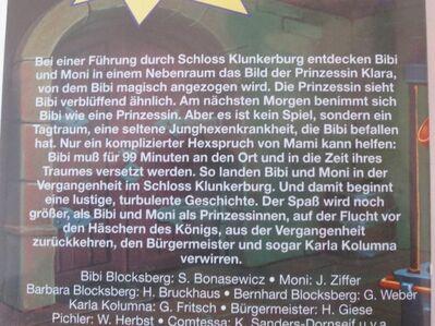 Bibi Blocksberg als Prinzessin  -  Folge 3  - VHS - Essen