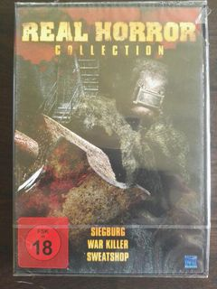 DVD Real Horror Collection (3 Filme OVP) - Leck