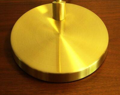 Tischleuchte ♫ Tischlampe im Gold Design ♫ mit Energiespar Leuchtmittel - Ingolstadt