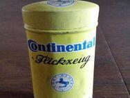 Alte Continental Flickzeug Blechdose