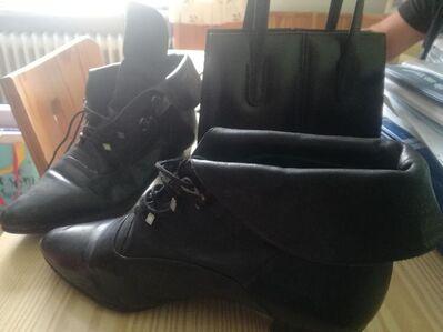70er Jahre Schuhe und Handtasche top neuzustand - Poing