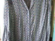 Damen Bluse langärmlig (Gr.52) runde Punkte - Weichs