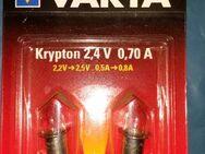 Varta 751 2x Krypton 2,4V 0,70A neu in OVP. - Berlin Friedrichshain-Kreuzberg