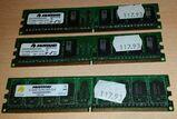 Mustang Black Line DIMM 1,5 GB, DDR2-533, CL4 (M40646465X6N)
