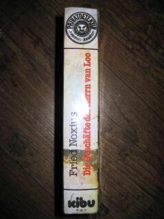 """Sehr spannende Detektivgeschichte """"Die Geschäfte des Herrn van Loo"""" von Fried Noxius in sehr gutem Zustand, empfohlen am 11 Jahren, KIBU Verlag, stammt aus 1981, 179 Seiten, ISBN: 3881016414, zum Schutz für weiteren Gebrauch schon eingebunden, 4,- € - Unterleinleiter"""