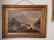 Ölgemälde Antik Hintersee Reiteralpe Königssee Bad Reichenhall Alpen Impressionismus - Nürnberg