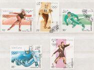 Olympia-Briefmarken 1992 Albertville von Postes Lao (2) [368] - Hamburg