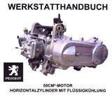 Peugeot Jet Force Werkstatthandbuch (Motor)