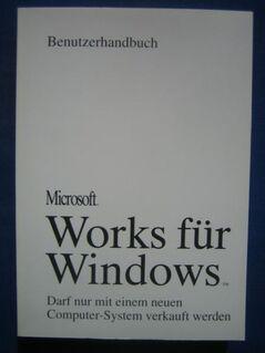 Microsoft Works für Windows Benutzerhandbuch wie neu - Höchstadt (Aisch) Zentrum