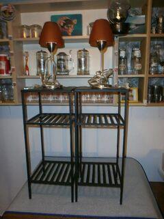 2 Nachttische massiv mit Lampe zu verkaufen! - Altenstadt (Hessen)