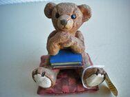 Gilde-Teddy,Keramik,Handarbeit,Alt,ca. 8 cm - Linnich