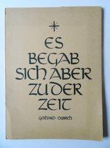 Gerhard Olbrich. Es begab sich aber zu der Zeit. 11 Zeichnungen zur Weihnachtsgeschichte, von 1952