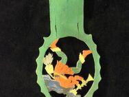 Holz Märchen Laubsägearbeit Rattenfänger von Hameln Vintage Deko 3,- - Flensburg