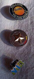 3 Pins für Sammler WM 4. Stern, Fanta, Me! - Stuttgart