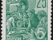 """DDR: MiNr. 415 X II, 21.11.1953, """"Fünfjahrplan (II)"""", geprüft, postfrisch - Brandenburg (Havel)"""