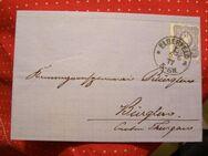 Deutsches Kaiserreich,alter Briefumschlag 01.06.1877,Lot 201