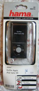 iPod nano 5G Silikontasche Astao. Hama NP 16 Euro