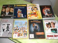 8 x  DVD (Filme) gemischt - Senftenberg
