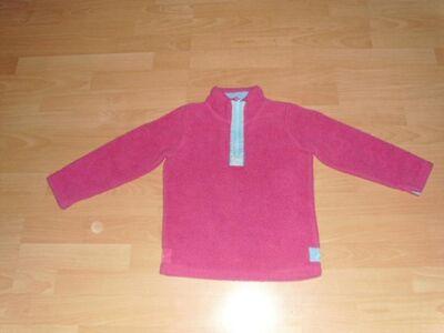 Fleecepullover von Joules, pink, Gr. 134 - Bad Harzburg