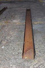 Stahlträger, Eisen, U-Profil, U-Träger; 221cm lang, 10 cm breit x 6 cm hoch